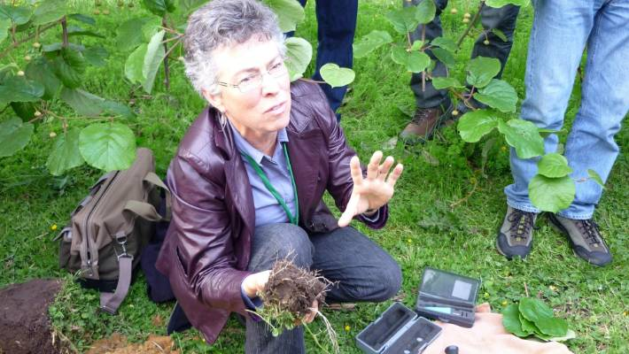 Former environmental policy specialist and biological soils consultant Phyllis Tichinin, said the rush towards tech solutions is alarming.