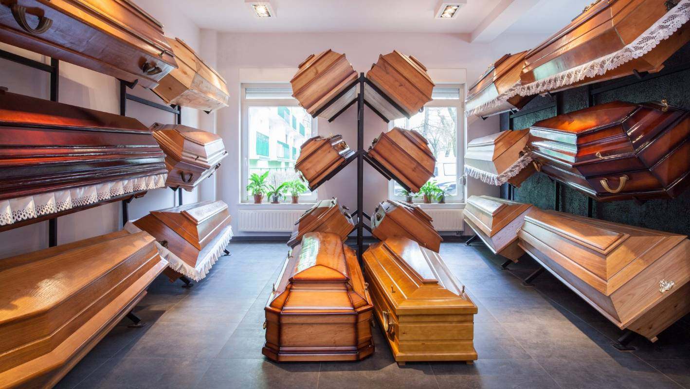 Flat-pack coffins and the Kiwi way of death | Stuff co nz