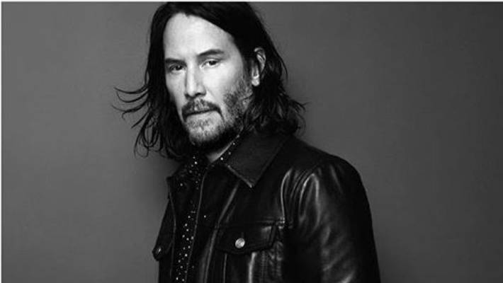 e142bb238a962 Saint Laurent creative director Anthony Vaccarello revealed Keanu Reeves is  the face of Saint Laurent's Fall