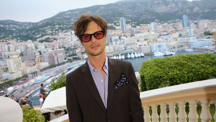 Actor Matthew Gray Gubler, one of Criminal Minds' dull cast members.