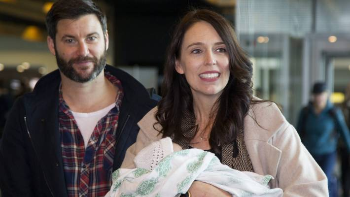 New Zealand Prime Minister Jacinda Ardern and Clarke Gayford engaged