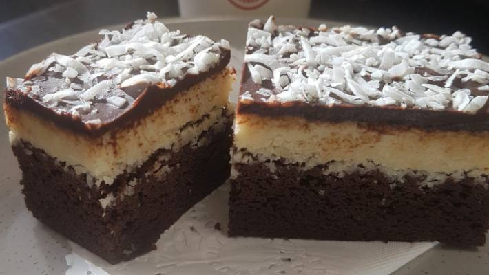 From the menu: Christchurch's Ilex Cafe's coconut brownie | Stuff co nz
