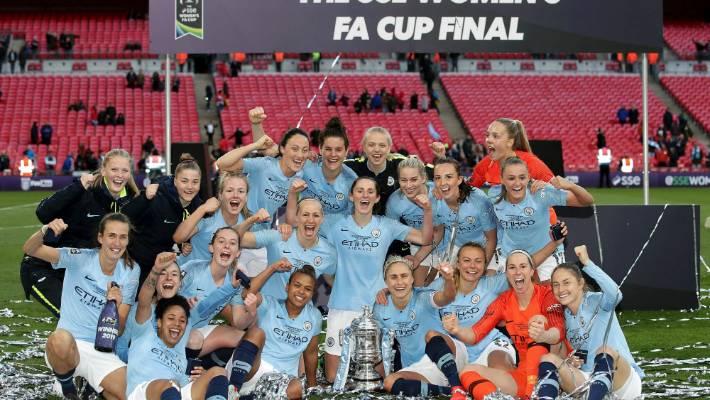 Women's FA Cup Final 2019: Man City beat West Ham 3-0