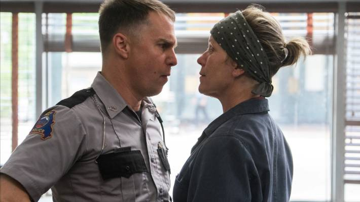 Sam Rockwell and Frances McDormand won an Oscar for their performances in Three Billboards Outside Ebbing, Missouri.