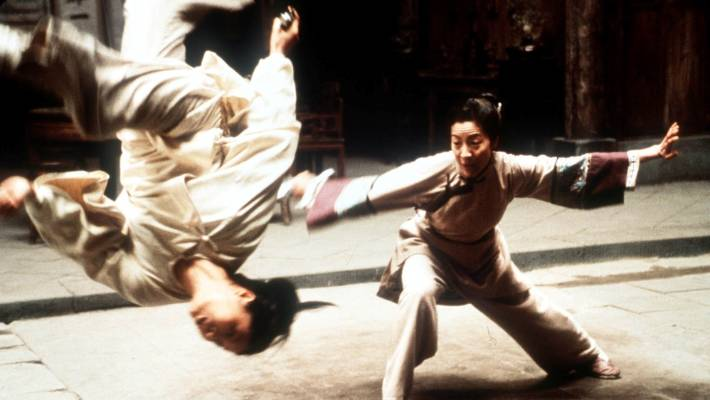 The Tiger crouching, Hidden Dragon, had released a western audience in 2000.