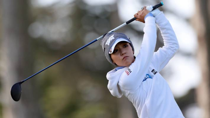 Van Dam, Ryu, Ji tied for lead at Lake Merced