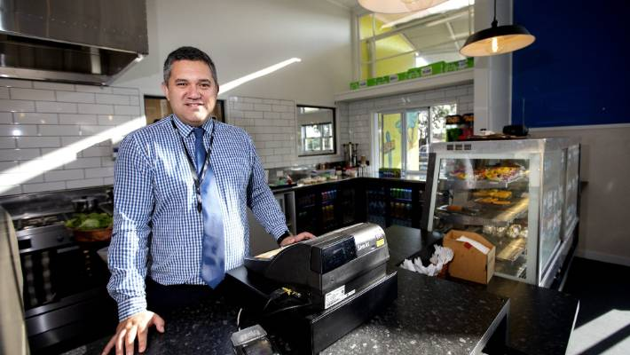 Waitara High School's new cafe and food lab give students