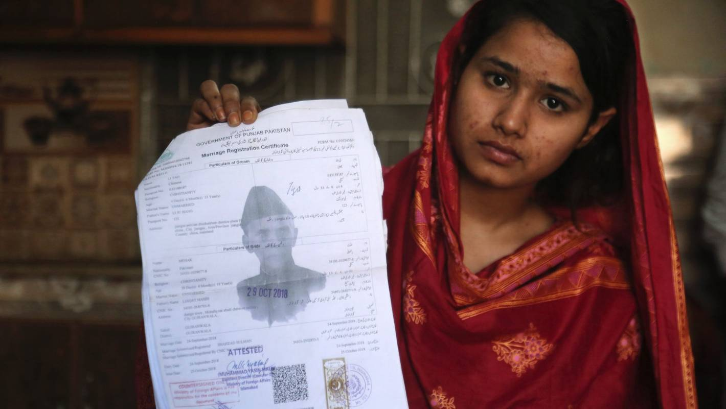 Pakistani Christian girls lured into marriages in China under false