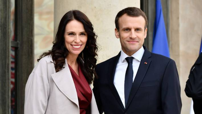 France's Macron, New Zealand's Ardern host Paris summit against online extremism