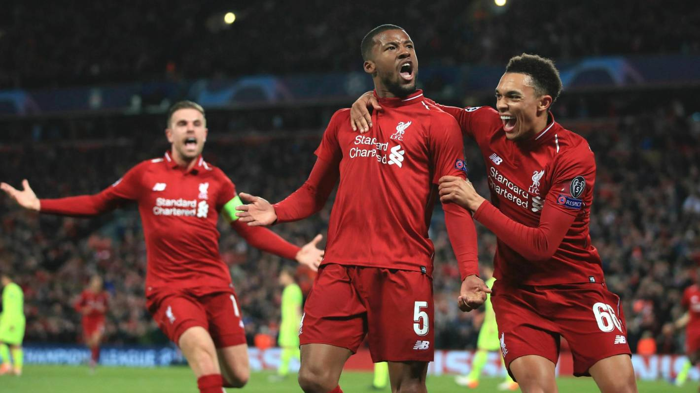 Liverpool grab another spot in the list of astounding sporting comebacks