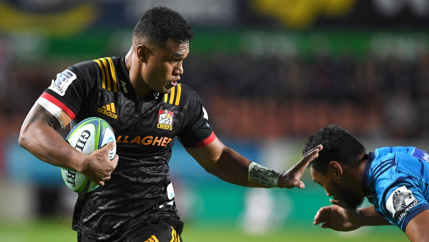 Super Rugby: Chiefs centre Tumua Manu living his dream after life-changing injury