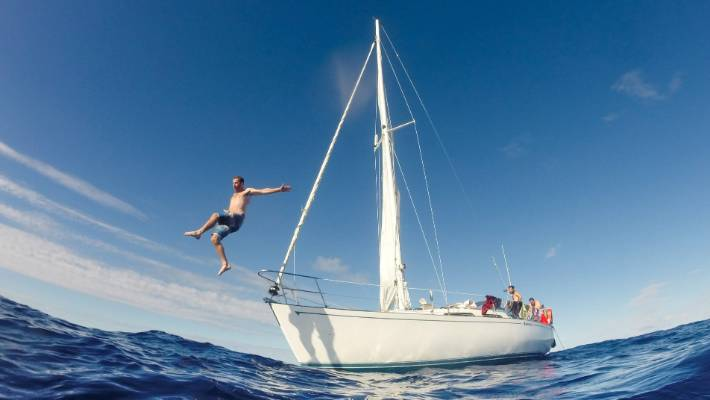 Cruising Fiji: This trip represented the ultimate freedom.