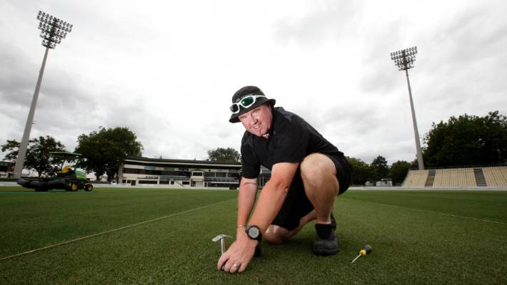 Seddon Park turf manager Karl Johnson is delighted with the results of the analysis into his venue.
