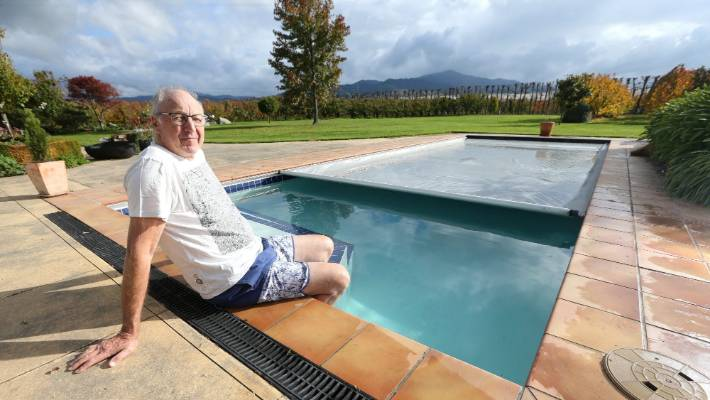 Retired lawyer Bernie Rowe is seeking a new determination from the ministry in a bid to not have his pool bound by a fence