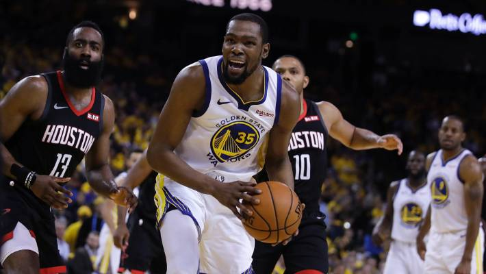 7720d09fa9e7 A calf muscle injury has left the Golden State Warriors without superstar  forward Kevin Durant.