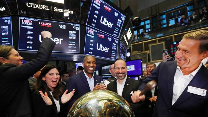 By the end of the day Friday, Uber had a market value of $ 69.7b, well below the US $ 120b figurative banks had proposed in 2018.