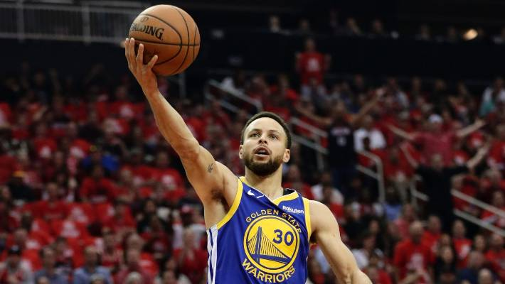 24cec6905bba Golden State Warriors guard Stephen Curry scored 33 second-half points to  end the Rockets