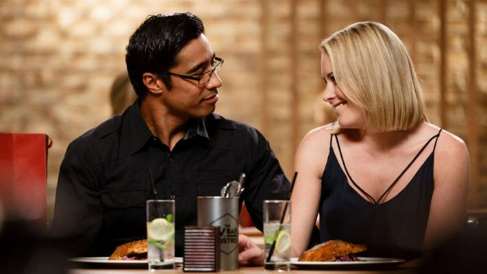 Pua Magasiva and Sally Martin from Shortland Street.