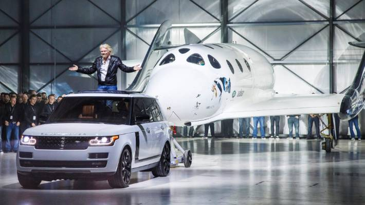 Virgin Galactic and Land Rover launch auto  for future astronauts
