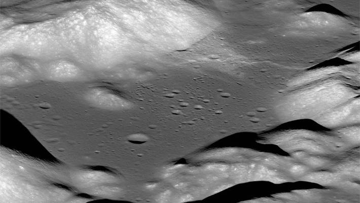 "As the moon shrinks, it gets wrinkled, which then forms ""thrust faults"" and results in one section of the surface crust pushing up over another crust."