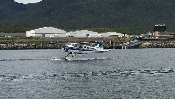 A Taquan Air DHC-2 Beaver at Ketchikan Airport