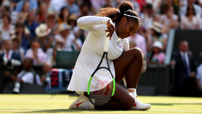 Serena Williams has won seven of her Grand Slams on the Wimbledon pitch.