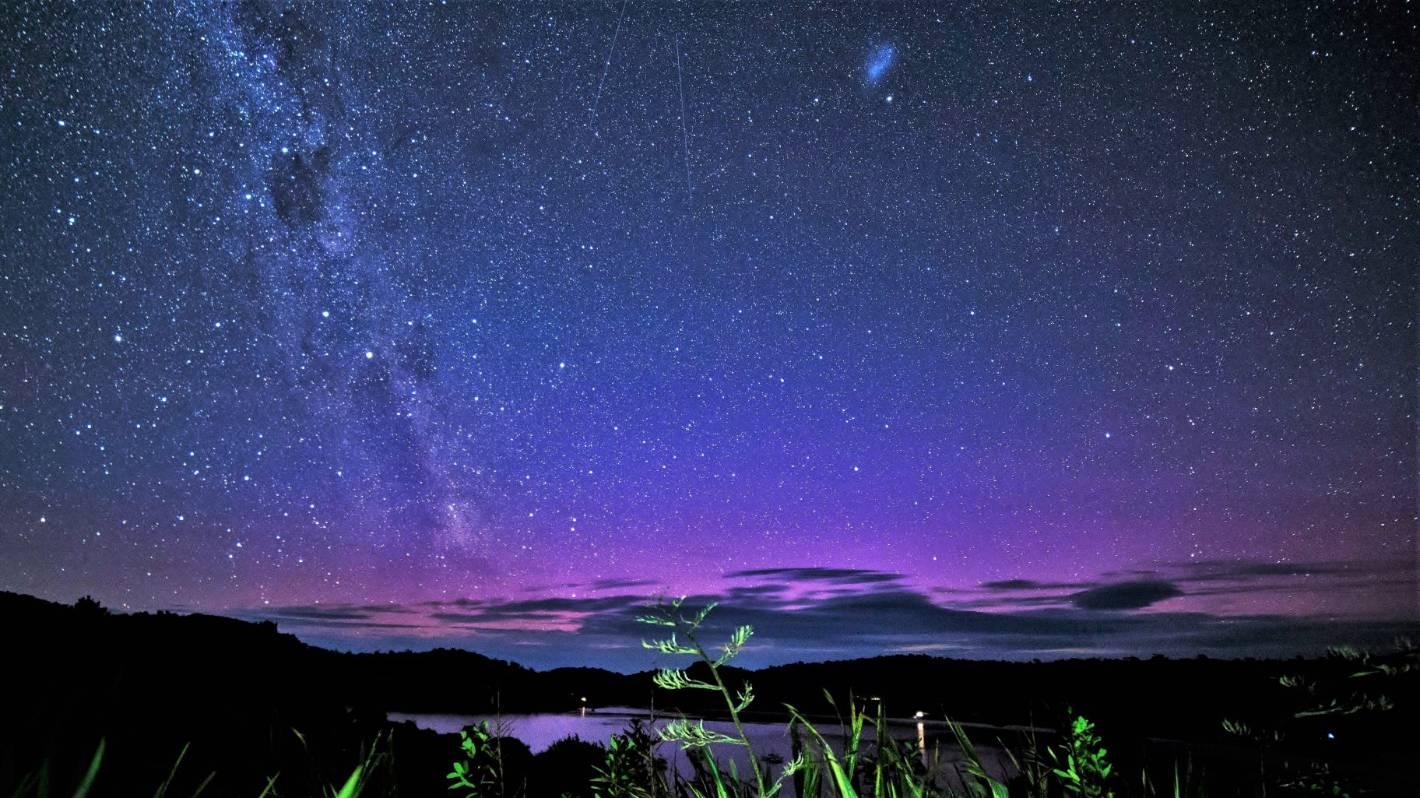 iPad Retina  Night Sky Aurora Colorado