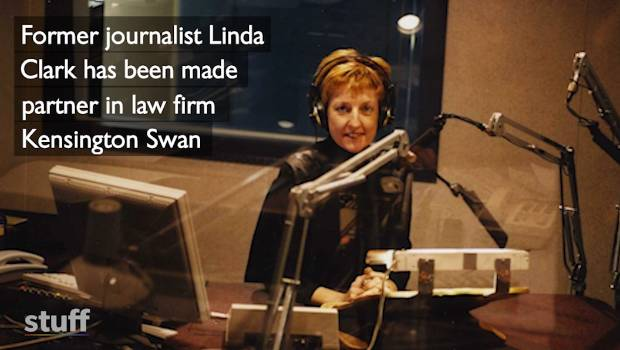 Linda Clark - from top journalist to partner at a
