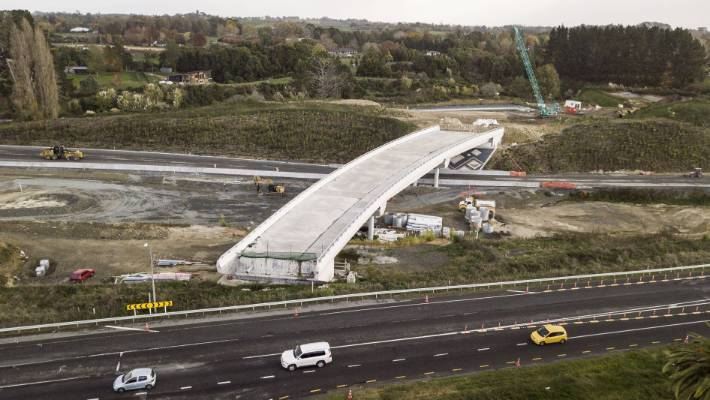 A review will be completed in June and it should provide an idea of a new completion date for the Waikato Expressway.