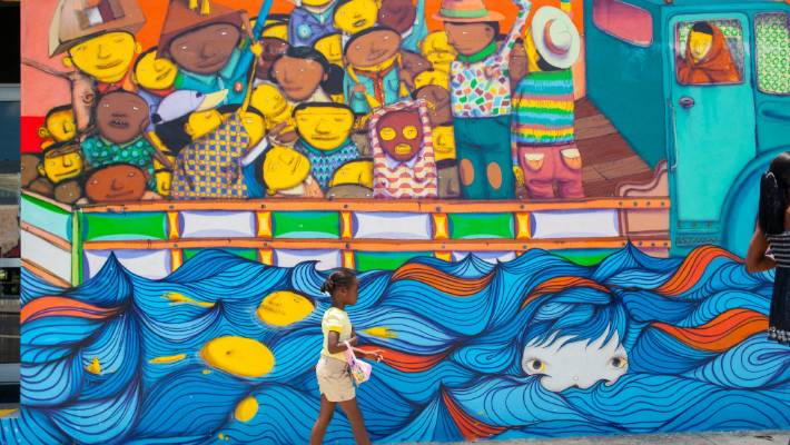 Wynwood is now a tourism hot spot.