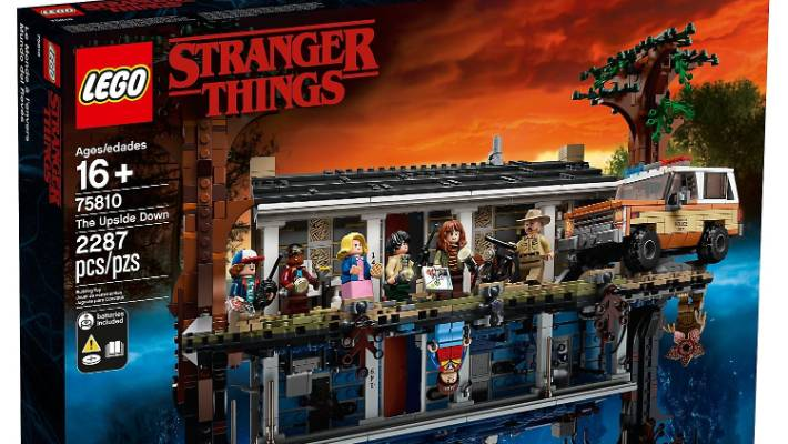 Stranger Things Lego set is the Byers house here    and in the