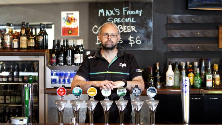New Plymouth bar manager won't forget staring down the barrel of a