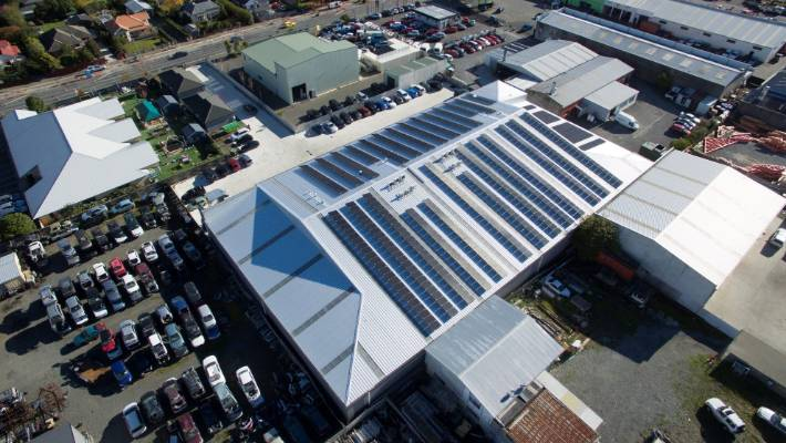 Christchurch joinery company Misco has installed Canterbury's largest solar system capable of powering 27 homes.