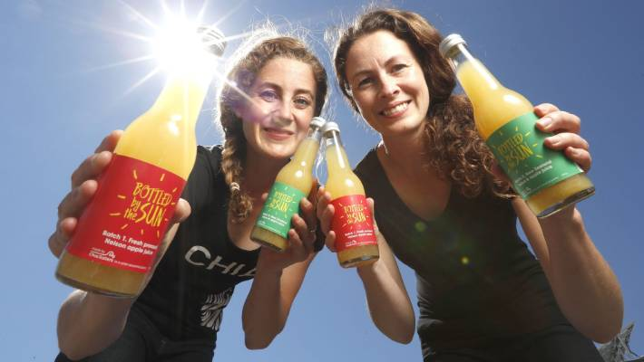 Champions of sustainability, Florence and Chloe Van Dyke, have opted for solar power for their chia drinks operation in Nelson and have been recognised in Forbes magazine Top 30 Under 30 list.