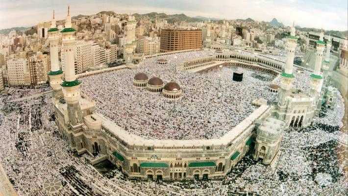 A trip to Mecca for Hajj is one of the five pillars of Islam.