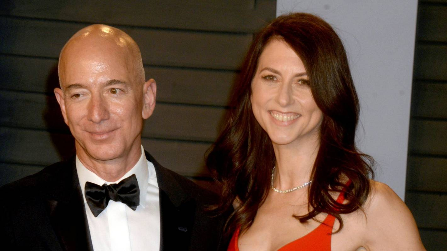 MacKenzie Bezos becomes world's 3rd-richest woman after divorce