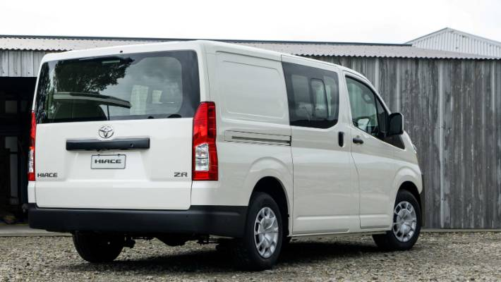 Hilux ute helps Hiace van become torque of the town | Stuff