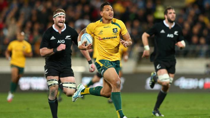 Israel Folau will not play for the Wallabies again after having his contract torn up.