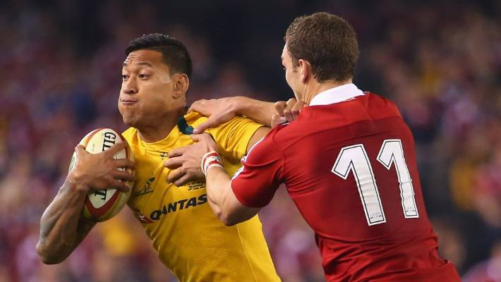 RA chief sacks Folau