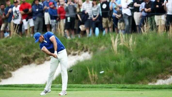 Brooks Copeka has command of the PGA championship.