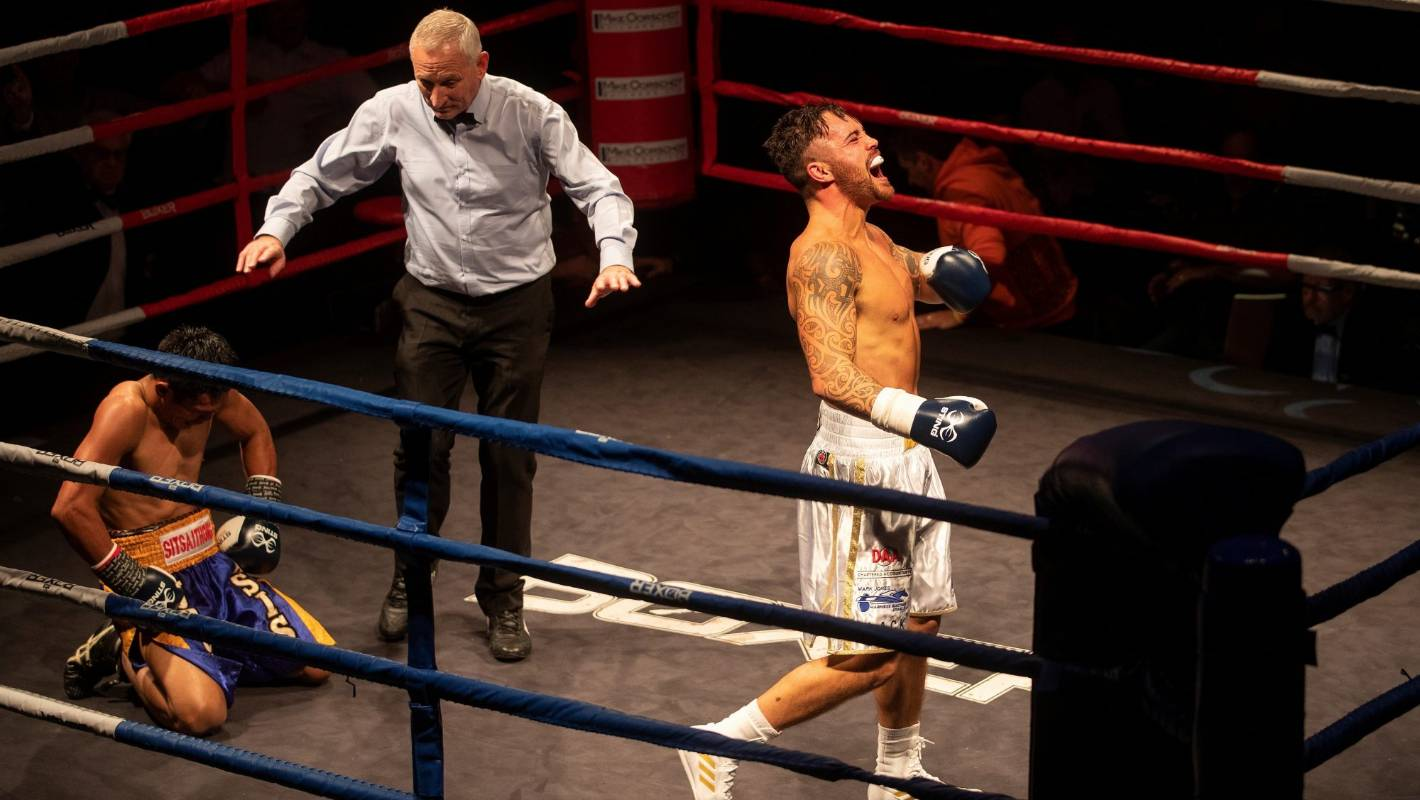 Bowyn Morgan waiting for challengers following knockout world title win