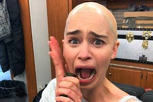 Even the Mother of Dragons herself found that episode hard to watch.