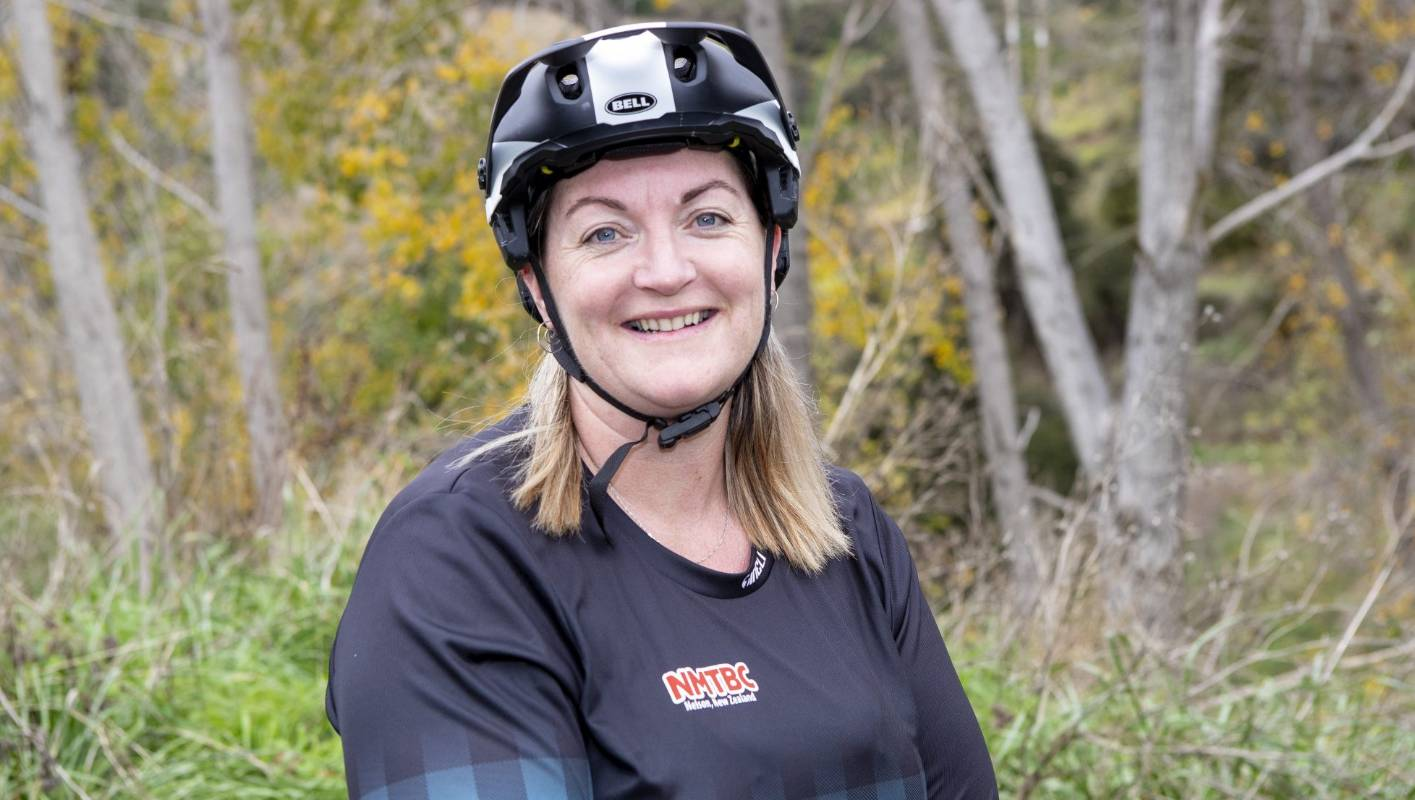 New mountainbike club president ready to ring in the changes