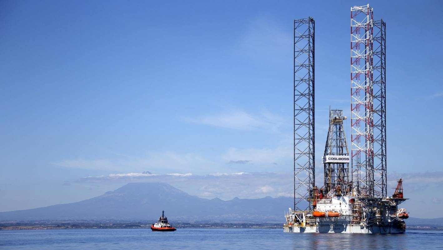 Rig farewelled from Taranaki after Pohokura gas programme completed
