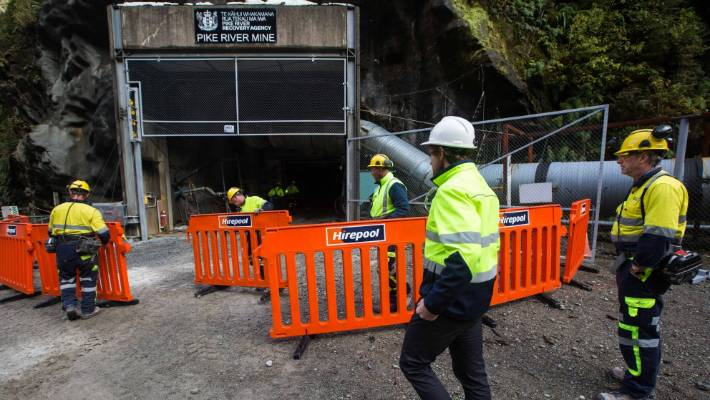The Pike River mine was reopened for the first time on May 21, 2019.
