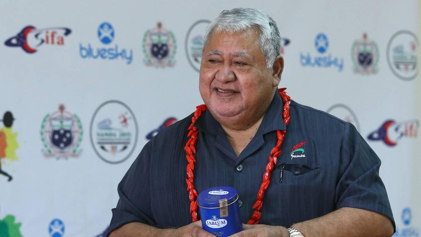 Samoa Prime Minister Tuilaepa Sailele Malielegaoi to compete in archery at Pacific Games