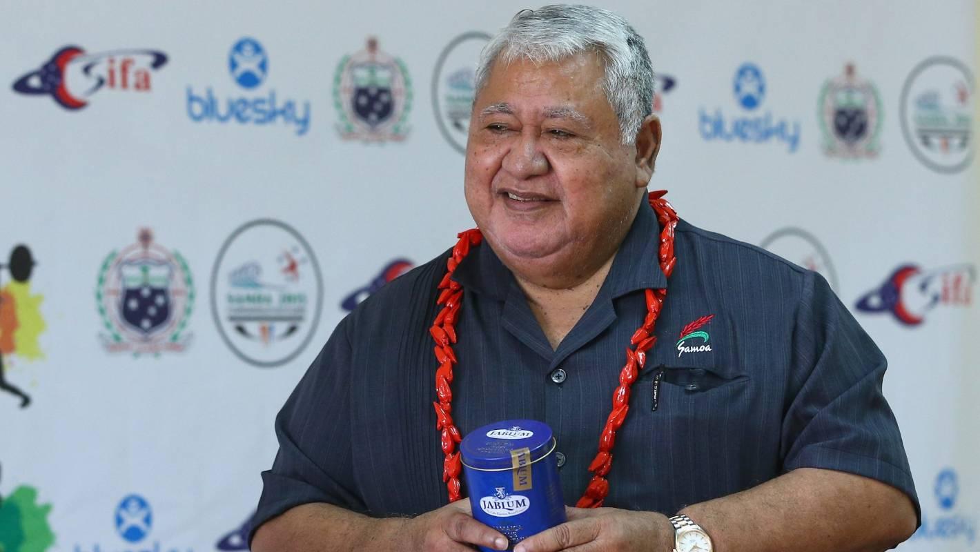 Samoan PM Tuilaepa Sailele Malielegaoi hits out at Laurel Hubbard