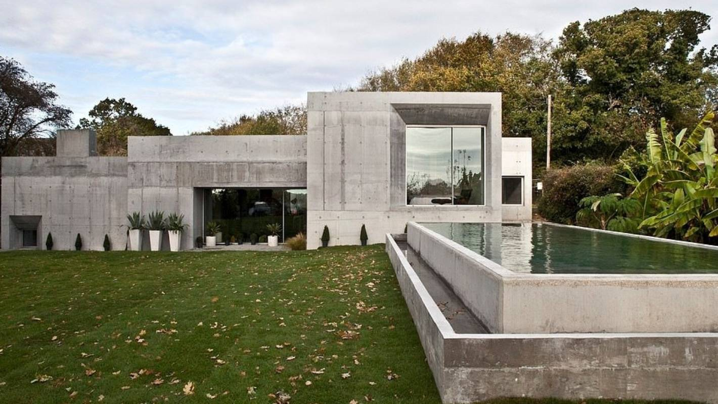 Grand Designs Uk Monolithic Concrete House Described As Brutal