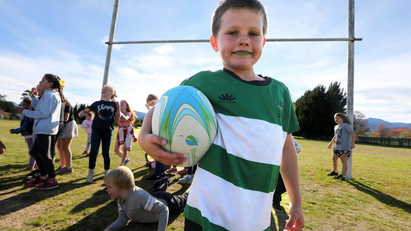 a757ea14267 Country kids win once-in-a-lifetime coaching session with former All Black