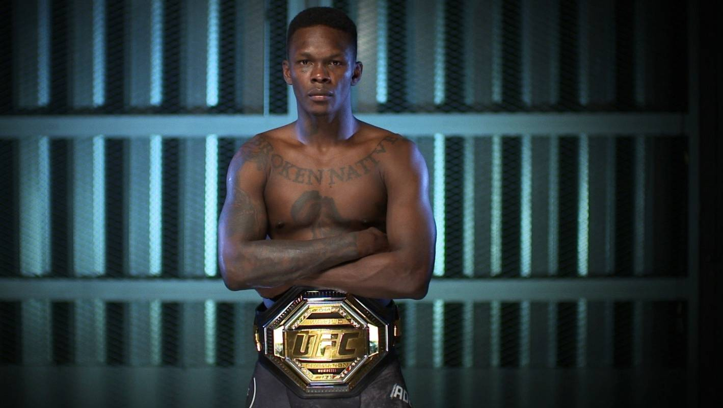 Israel Adesanya goes back to his roots in Nigeria ahead of UFC title showdown